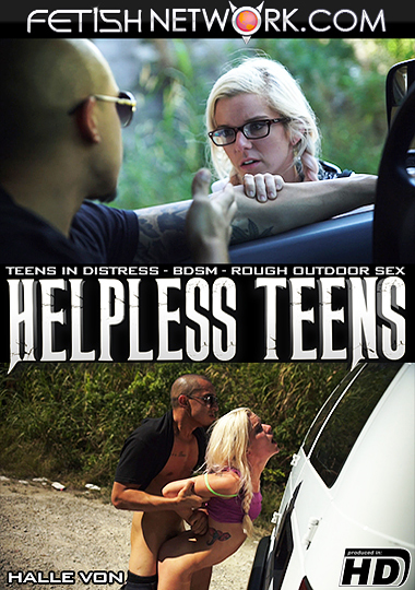 Helpless Teens: Halle Von cover
