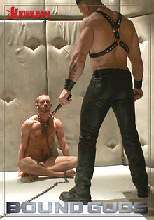 Bound Gods: Muscled Pervert Turns His Captive Stud Into A Sex Slave cover