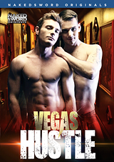 vegas hustle, nakedsword, naked sword, gay, porn, feature, brent corrigan, chris harder, gogo boy, muscles, safe sex