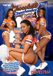Chocolate Cheerleader Camp 4 cover