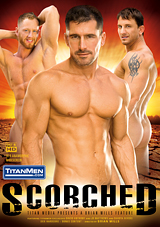 scorched, titan men, gay, porn, muscles, gabriel cross, travis james