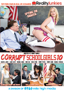 Corrupt School Girls 10 cover