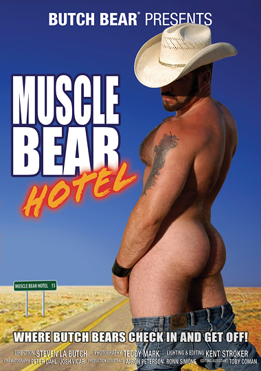 Muscle Bear Hotel Cover Front