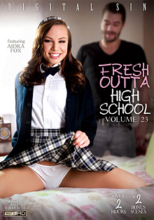 Fresh Outta High School 23 cover