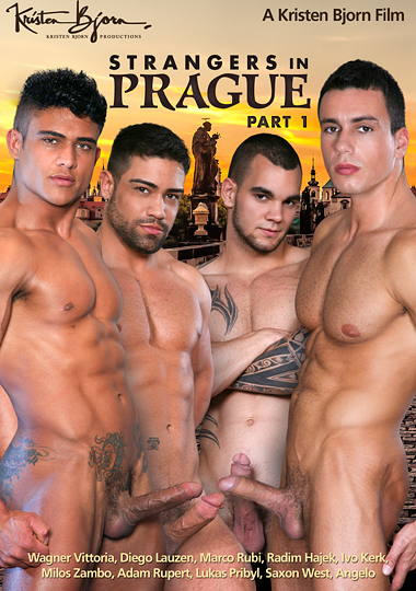 Strangers in Prague 1 Cover Front