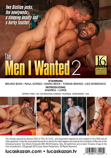 The Men I Wanted 2 Cover Back