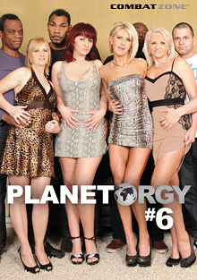 Planet Orgy 6 cover