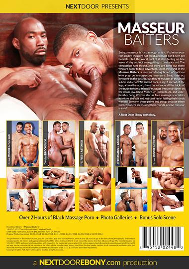 Masseur Baiters Cover Back