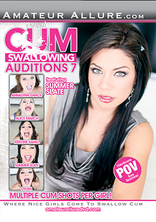 Cum Swallowing Auditions 7 cover