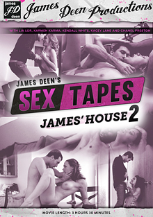 James Deen's Sex Tapes: James' House 2 cover