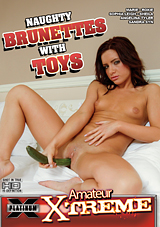 Naughty Brunettes With Toys