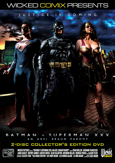 Batman V Superman XXX: An Axel Braun Parody cover