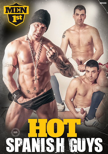 Hot spanish guys Cover Front