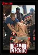 Bound In Public: Cock Hungry Whore Gang Fucked At Mr. S Leather