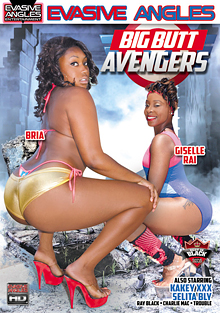 Big Butt Avengers cover