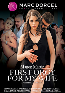 Manon Martin: First Orgy For My Wife cover