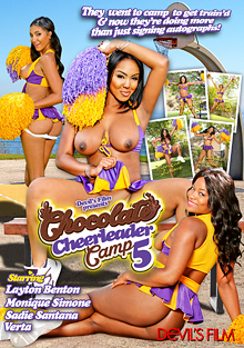 Chocolate Cheerleader Camp 5 cover