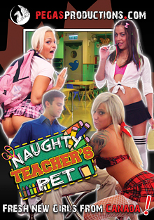 Naughty Teacher's Pet cover