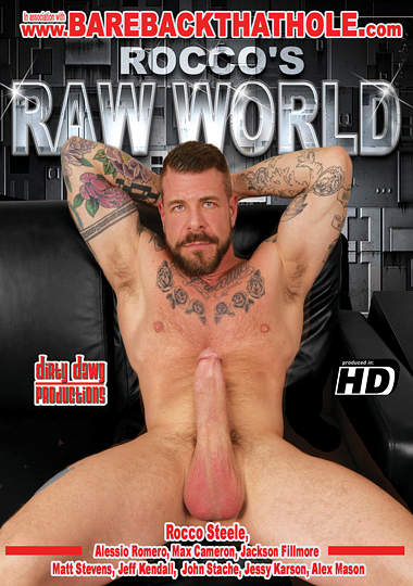 Roccos Raw World Cover Front
