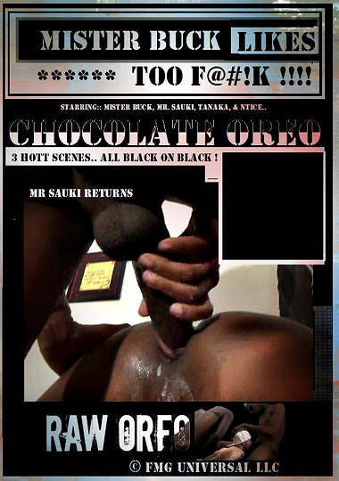 Chocolate Oreo Cover Front