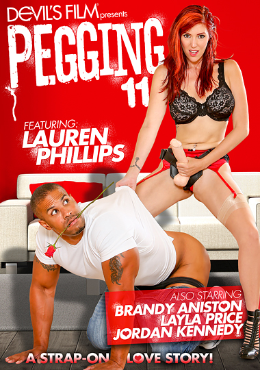 pegging 11, strap-on love story, devil's film, lauren phillips, brandy aniston, layla price, jordan kennedy
