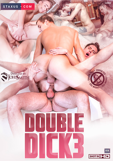 double dick 3, staxus, dp, double penetration, double anal, gay, twink, interracial, threeway, threesome