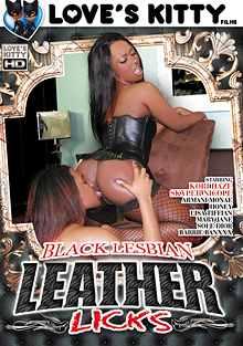 Black Lesbian Leather Licks cover
