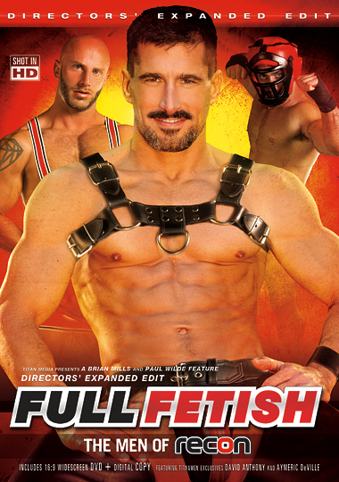 Full Fetish The Men of Recon Cover Front