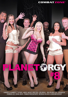 Planet Orgy 8 cover