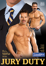 jury duty, titan men, titan media, david anthony, gay, orgy, porn, blow bang