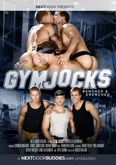 Gym Jocks Benched and Drenched Cover Front