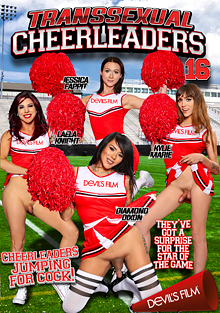 Transsexual Cheerleaders 16 cover