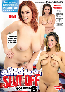 The Great American Slut Off 8 cover