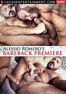Alessio Romero's Bareback Premiere cover