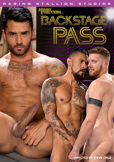 Backstage Pass 1 Cover Front