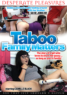 Taboo Family Matters cover