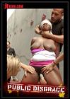 Public Disgrace: Big Titted Greedy Whore Fucked In An Ally