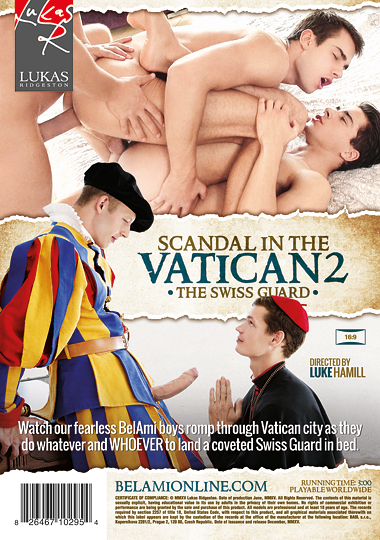 Scandal in the Vatican 2 The Swiss Guard Cover Back