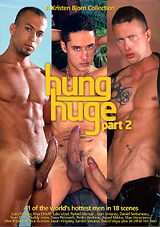 hung huge 2, rafael alencar, gay, porn, big dick, kristen bjorn