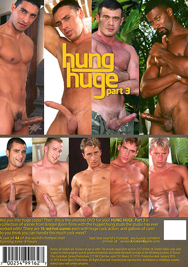 Hung Huge 3 Cover Back