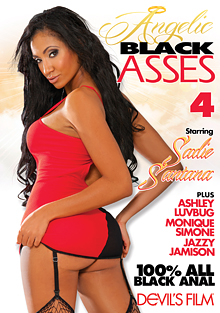 Angelic Black Asses 4 cover