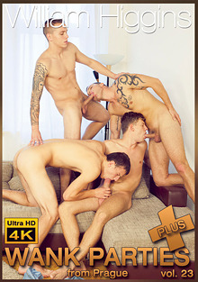 Wank Parties Plus From Prague 23 cover
