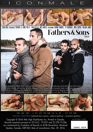 Fathers and Sons 4 Cover Front
