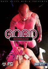 gogo gangbang, gay, porn, gangbang, bareback, saxon west, dark alley media, gogo