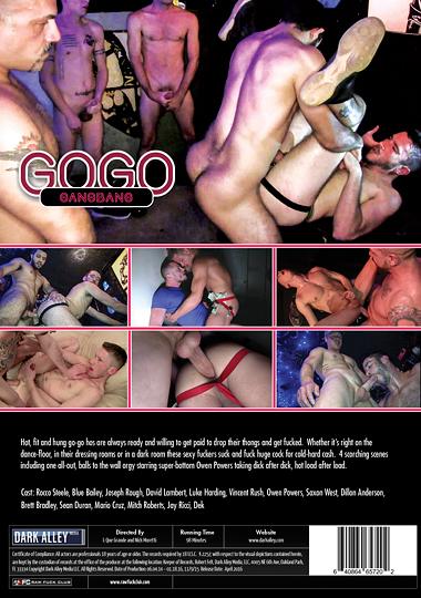 GoGo Gangbang Cover Back