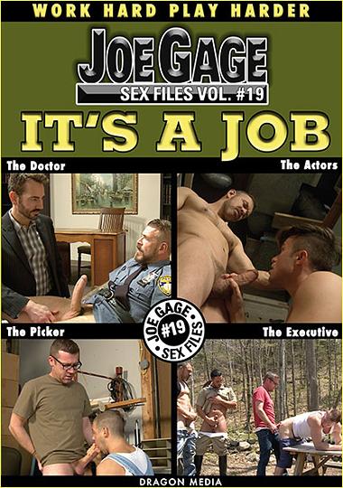 Joe Gage Sex Files 19 Its A Job Cover Front