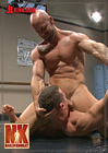 Naked Kombat: Top Cock: Loser Takes A Hard Machine Fucking Up His Ass