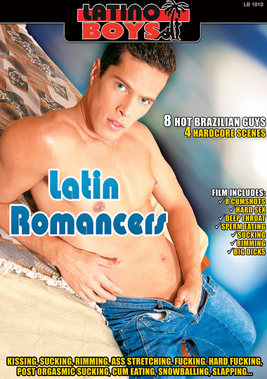 Latin Romancers Cover Front
