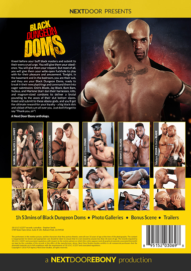 Black Dungeon Doms Cover Back