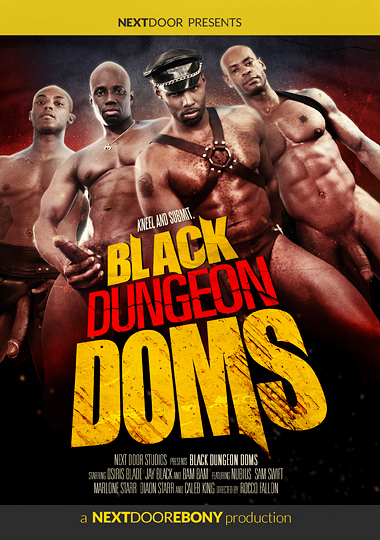 Black Dungeon Doms Cover Front